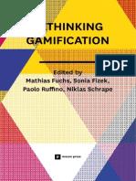 Rethinking Gamification