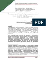 Contabilidad y Desarrollo Económico