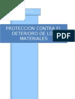 Proteccion Contra El Deterioro y Fallas de Los Metales... ion Terminada