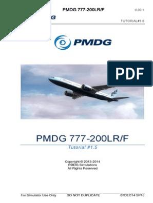 PMDG 777 Tutorial 1 5 Ingles | Simulation | Air Traffic Control