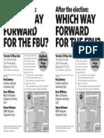 Fightback Fringe Meeting Fbu Conf