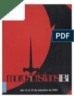 2002 - Libro Oficial de Fiestas de Moros y Cristianos de Ibi