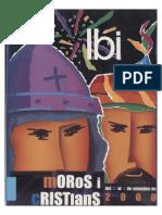 2000 - Libro Oficial de Fiestas de Moros y Cristianos de Ibi
