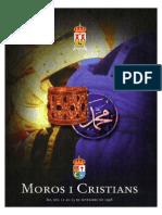1998 - Libro Oficial de Fiestas de Moros y Cristianos de Ibi