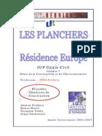 Expose Etudiants Planchers Procedes Generaux de Construction
