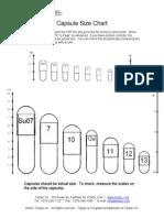 Gelcap Size Chart