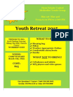 2015 Retreat Flyer and Permission