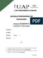 TRABAJO ACADEMICO Filosofia y Psicología.docx