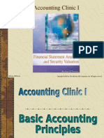 Accounting Clinic I