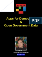 Apps for Democracy and Open Government Data as Presented in Copenhagen