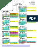 ConVal 2015-16 School Calendar Final