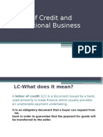 Letter of Credit and It Types