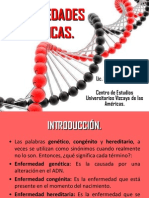 11. Enfermedades genéticas