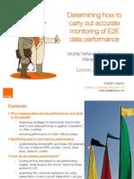 E2E KPI Monitoring