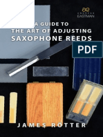 Art of Adjusting Reeds