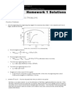 Revere Homework 1 Solutions