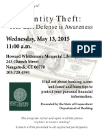 Lunch Learn Identity Theft