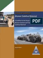 SA Technical Guideline for Bitumen Stabilised Materials
