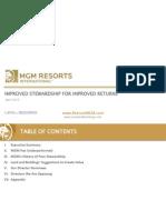 Land and Buildings MGM Investor Presentation April 2015 VF