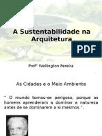 Aula 01_Arquitetura Sustentavel