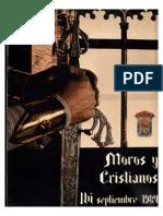 1984 - Libro Oficial de Fiestas de Moros y Cristianos de Ibi
