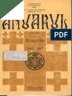 Anuarul Facultății de Teologie Sibiu, 2002-2003