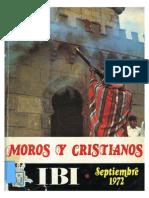 1972 - Libro Oficial de Fiestas de Moros y Cristianos de Ibi