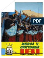 1971 - Libro Oficial de Fiestas de Moros y Cristianos de Ibi
