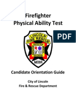 Firefighter Physical