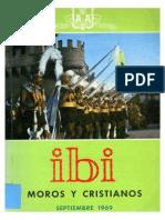 1969 - Libro Oficial de Fiestas de Moros y Cristianos de Ibi