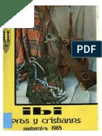 1965 - Libro Oficial de Fiestas de Moros y Cristianos de Ibii