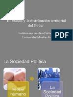 El Estado y La Organización Territorial Del Poder Def