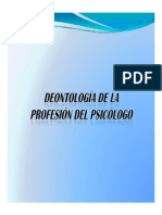 Deontologia Prof. Psicologo