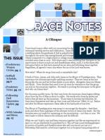 May 2015 Gracenotes