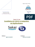 Installation de SAKAI et intégration du BigBlueButto