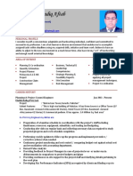 Planning Engineer Resume