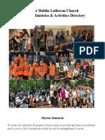 UDLC Directory of Ministries & Activities 2019