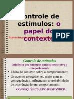 6 controle de estímulos- o papel do contexto.ppt