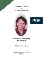 Tracy Lynne Avis[1]
