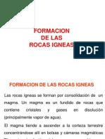 4º Semana - Formacion de Las Rocas Igneas(1)