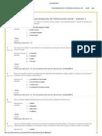 Evaluación Intermedia Psicopatología y Contextos