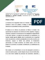 Discurso de Clausura de la Semana de Seguridad Social en el Senado de la República 30 abril 2015