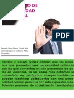 REVISTA DE TRANSTORNO DE PERSONALIDAD ANTISOCIAL