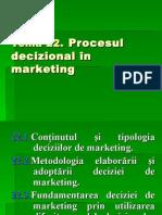 Procesul decizional în marketing