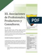 Asociaciones de Profesionales, Productores y Consultores