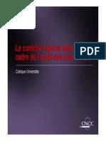 CNCC Table Ronde Le Contrôle Interne Dans Le Cadre de Laudit Des Universités1 (2)