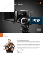 Blackmagic Cinema Camera Manual