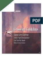 Crosswind Guidelines