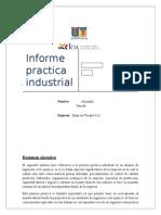 Informe Practica Industrial Alejandro Garrido [Tucapel]
