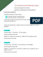 Guida Alla Lettura Del Contatore Dell'Acqua